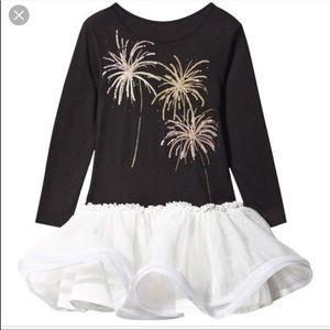 New billieblush black white dress firework 2 tutu
